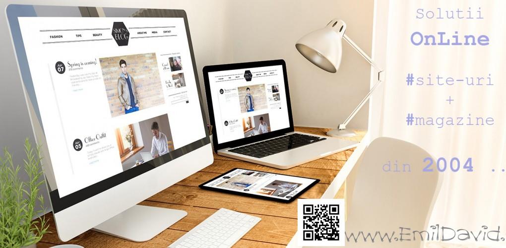 Realizare site-uri si magazine OnLine profesioniste Suceava